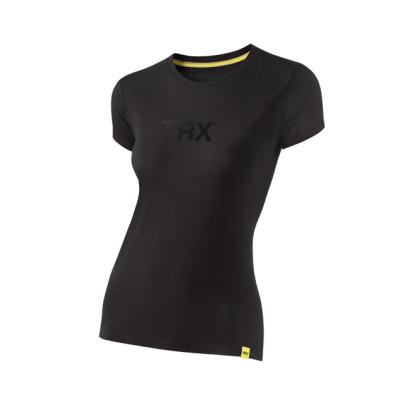 TRX Polera Mujer logo en Negro
